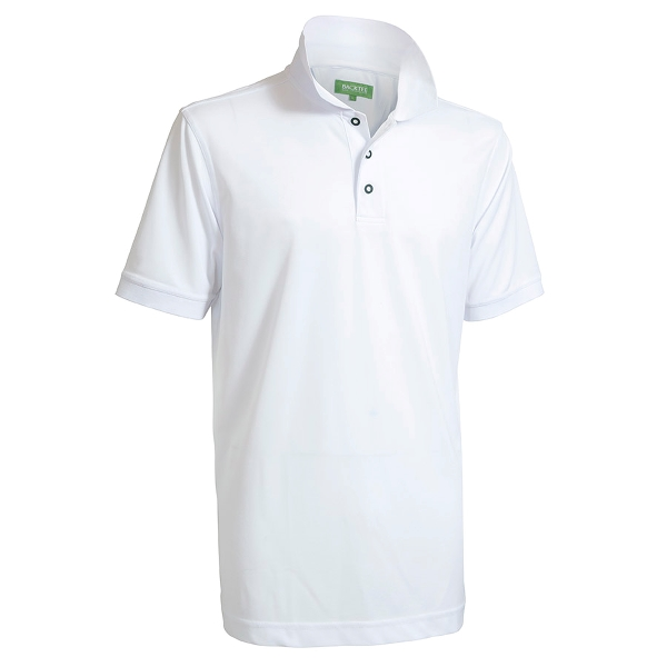 Performance Quick Dry Polo, Hvid