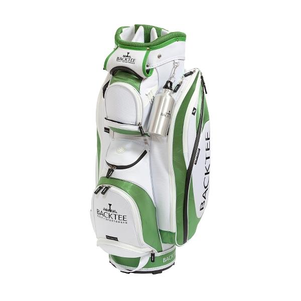 BACKTEE Golfbag, Hvid/grøn